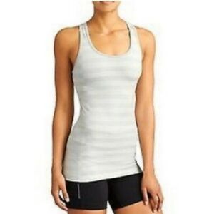 Athleta Striped Built-in Bra Sleeveless Top S